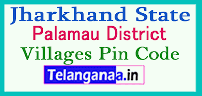 Palamau District Pin Codes in Jharkhand State