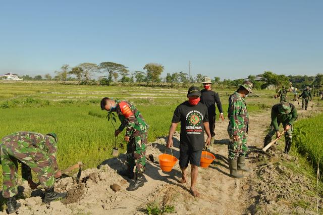 Peduli Lingkungan Hidup Kodim Klaten Adakan Program Penghijauan