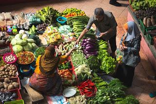 makan buah sayur