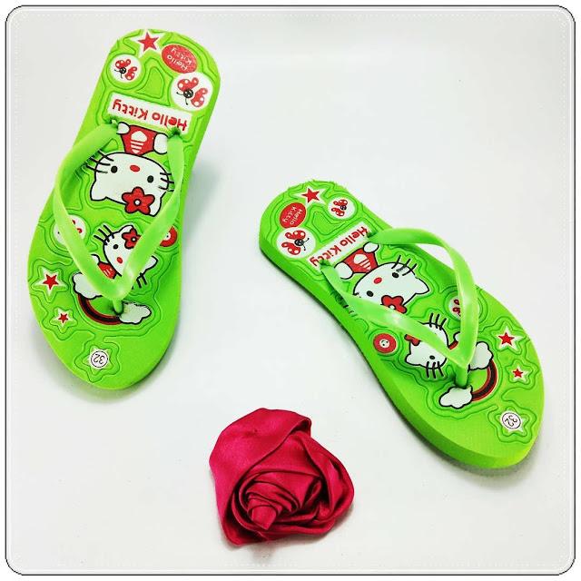Sandal Hitz 2020- Sandal AB Sablon HK TG- Sandal Anak Cewe Murah