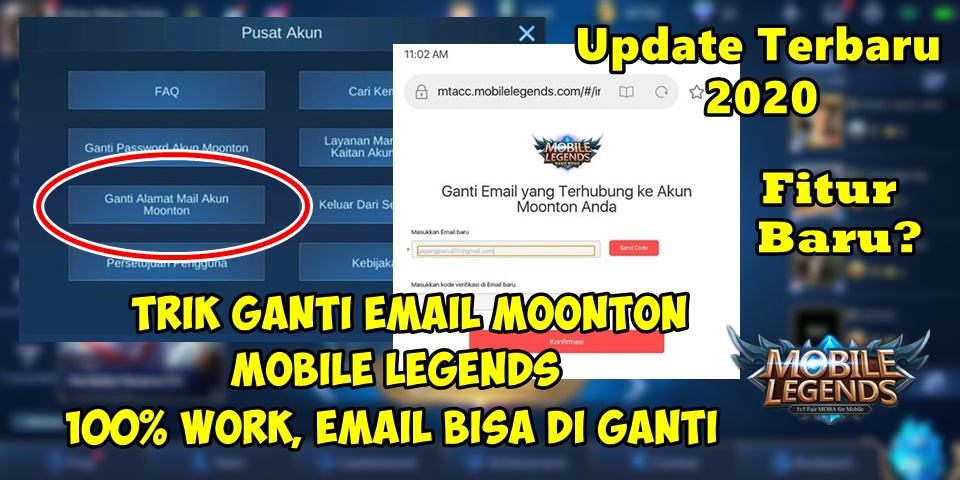 Cara Ganti Email Akun Moonton Mobile Legends Update Terbaru 100 Work Rumah Multimedia