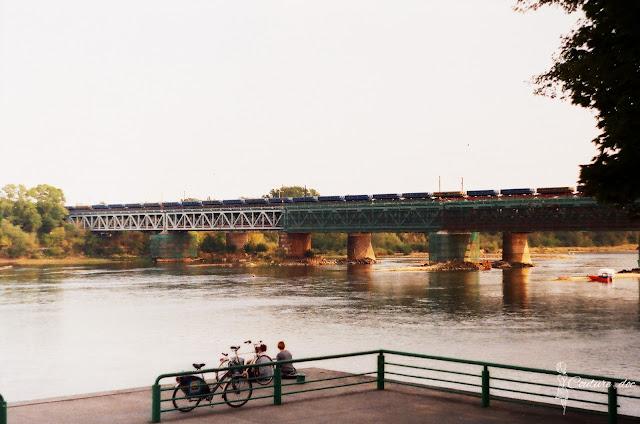 most gdański, rzeka wisła, rowery, Warszawa