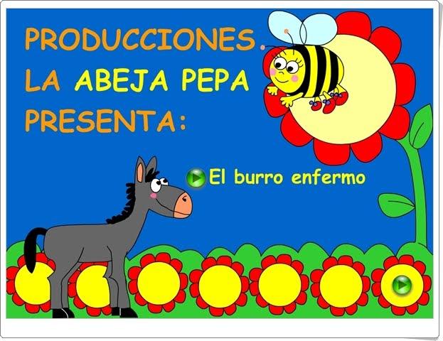 """""""El burro enfermo"""" (Canción tradicional multimedia)"""