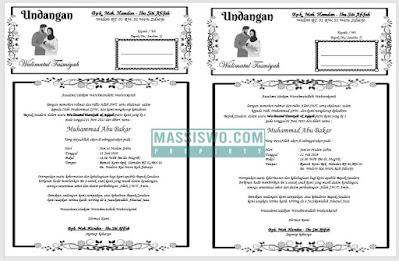 contoh undangan walimatul tasmiyah