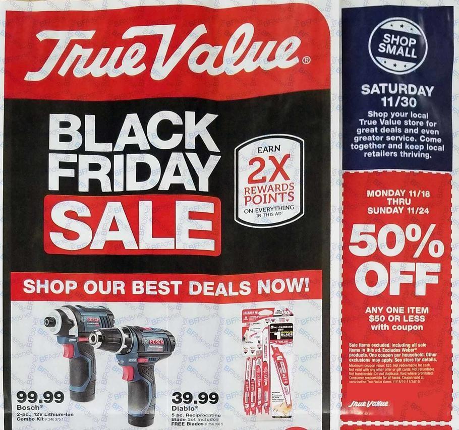 True Value Black Friday