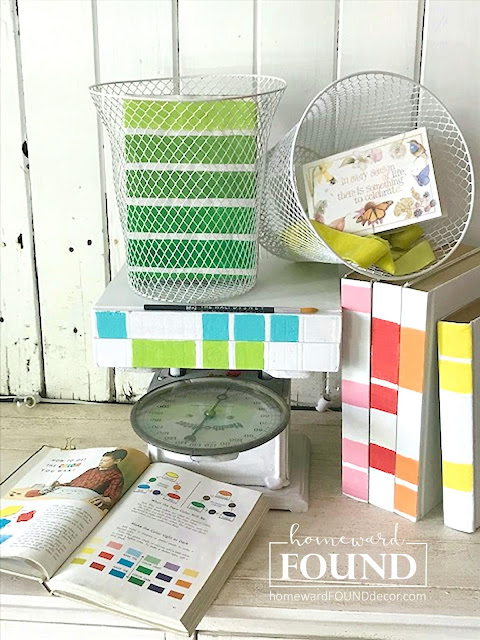 art, art class, #MAYkeovers, color, color palettes, creative spaces, creativity, diy decorating, DIY, books, junk makeover, painting, spring, thrifted, up-cycling, trash to treasure, my studio, makeover
