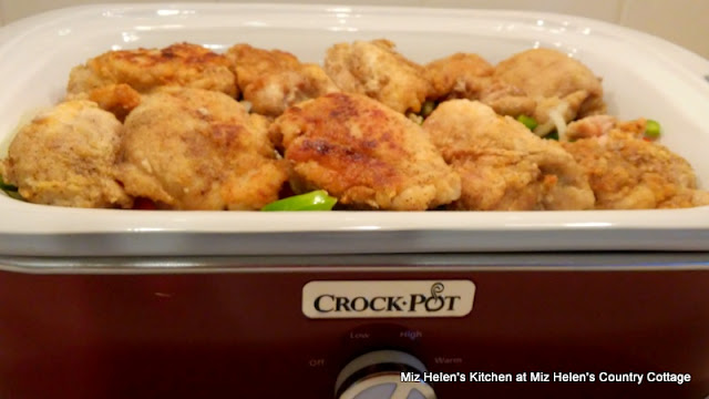 Crock Pot Italian Chicken at Miz Helen's Country Cottage