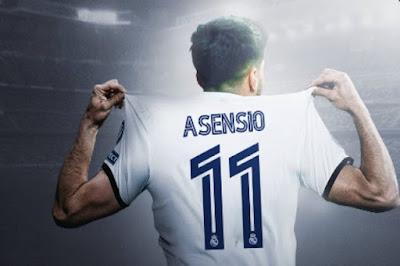 رسميا .. ماركو أسينسيو يرتدي قميص جاريث بيل في ريال مدريد