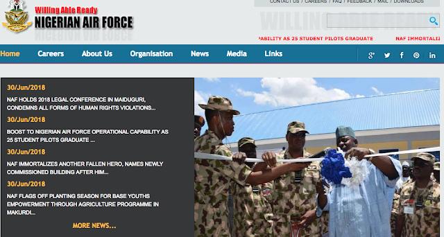Nigerian Air Force Undergraduate Recruitment