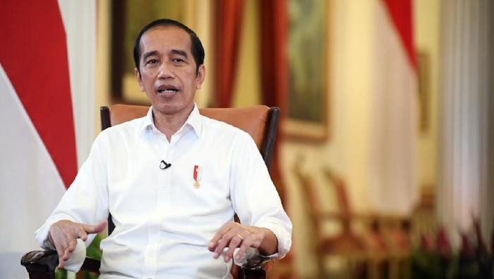 Momen Peringatan Hari Anak Nasional 2021, Sejumlah Siswa Bertanya ke Jokowi: Jadi Presiden Itu Ngapain Aja Sih Pak?