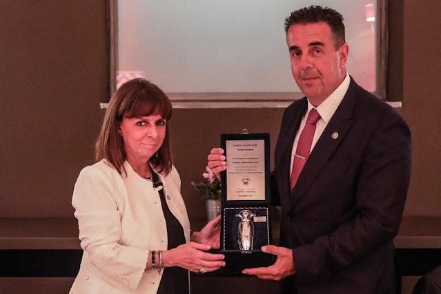 Ο Δήμαρχος Ναυπλιέων υποδέχθηκε στο Ναύπλιο την πρώτη πολίτη της χώρας