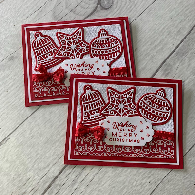 Handmade Christmas Card using the Frosted Gingerbread Stamp Set and the Gingerbread Dies