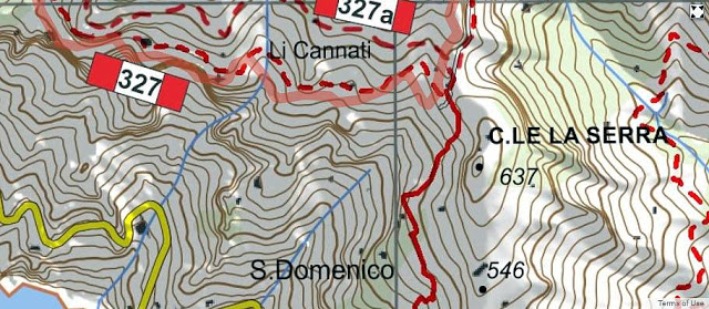 Sorrento Amalfi Walk With Us  THE NEW CAI HIKING MAP OF THE