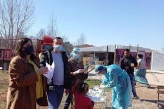 Ενημέρωση για τον εμβολιασμό στον καταυλισμό Ρομά από Δομές του Δήμου Καστοριάς και έλεγχοι rapid test από Κινητές Ομάδες Υγείας