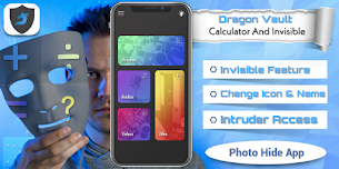 Dragon Calculator Vault - Calculator + Invisible Security  (Hide photos & videos)