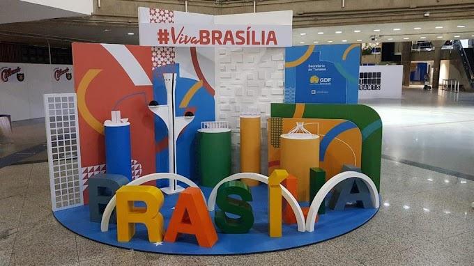 Turistas vão contar com photo point 3D e tótens interativos no Aeroporto de Brasília