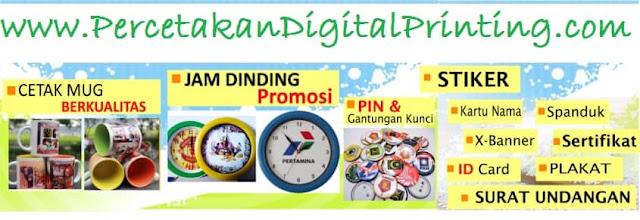 Digital Printing Cibubur Siap Order Online, Desain Bisa Di Email