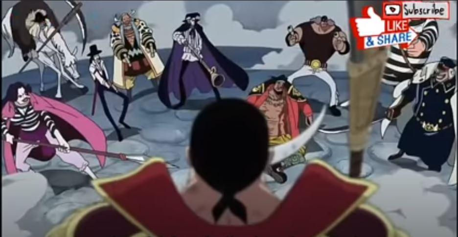 Fakta Pertempuran Sirohige dan Gol D Roger Kekuatan Pedang Sirohige