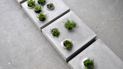 Cool Built-in Planters and Flowerpots (15) 2