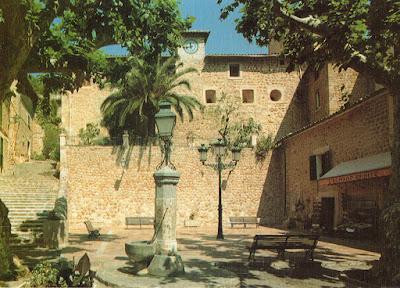 postal, Fornalutx, Mallorca