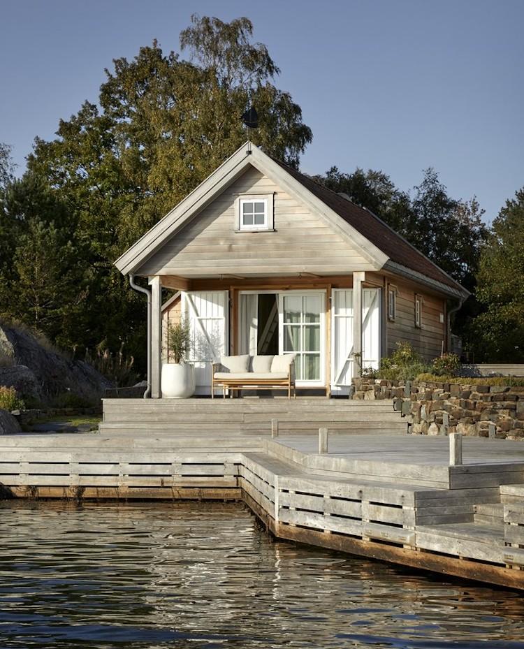 My Scandinavian Home An Idyllic Fjord Side Summer Retreat In Norway