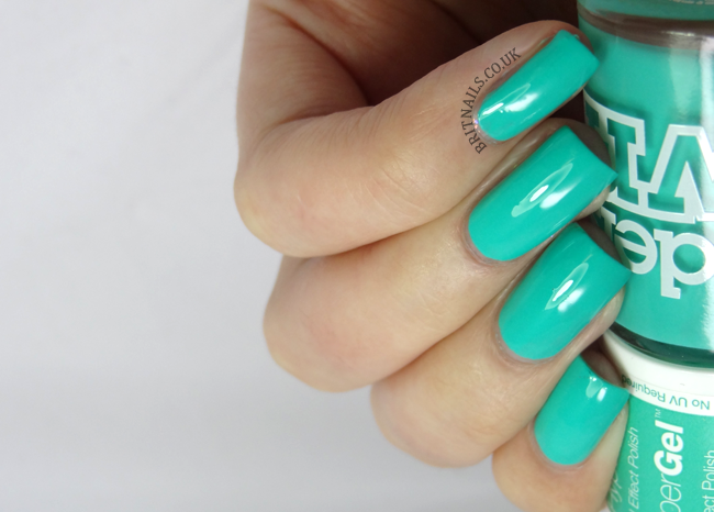 Models Own Hypergel turquoise gloss