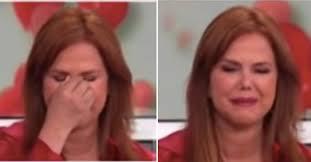 María Celeste Arrarás se fue en llanto...