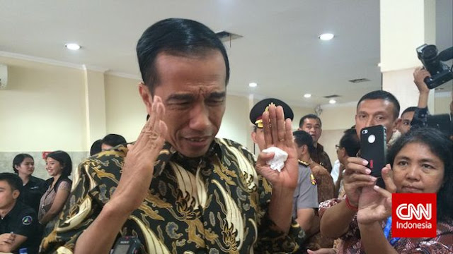 Jokowi soal Dugaan Suap Tito Karnavian: Saya Enggak Mau Ikut Campur