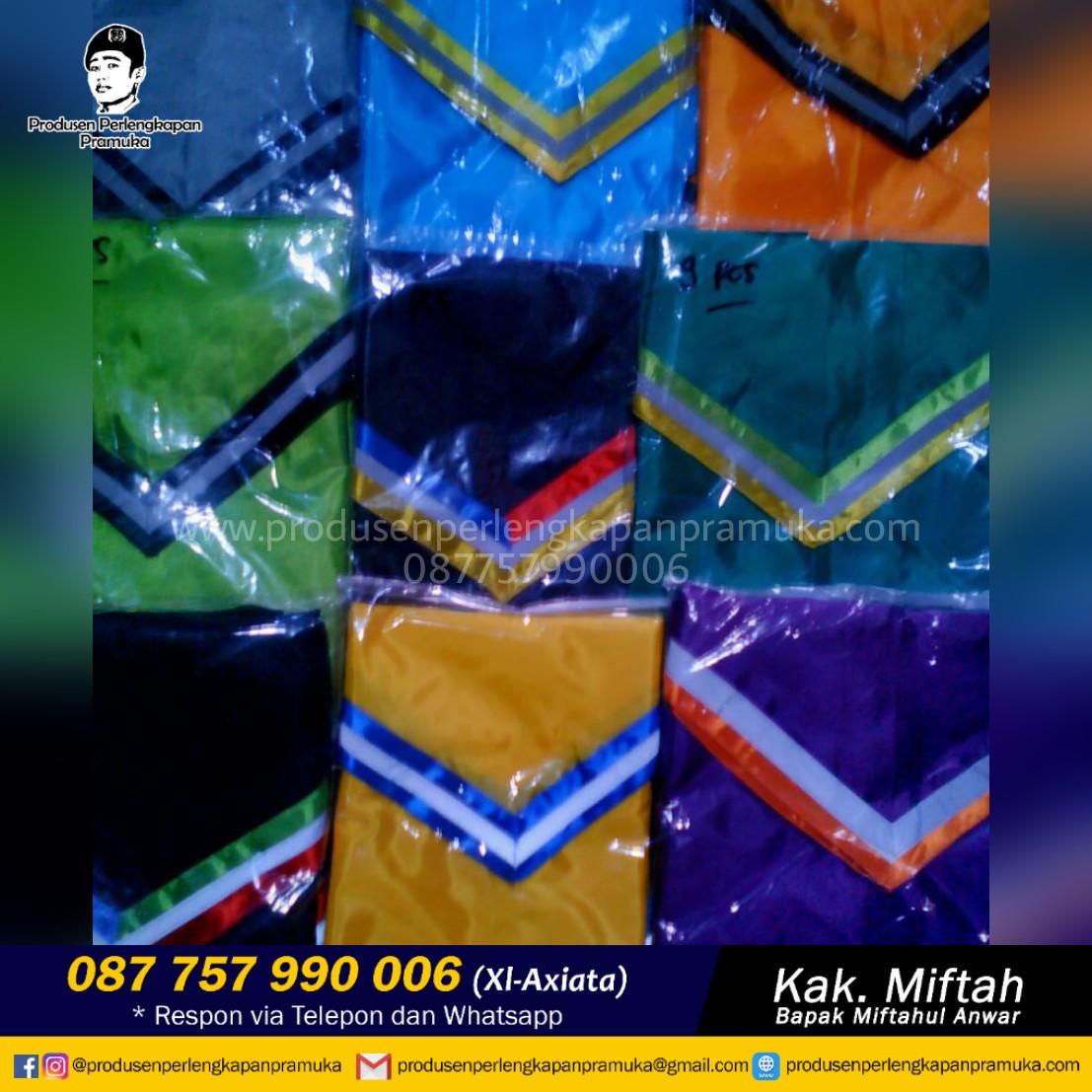 Jual Scarf Pramuka Kalimantan Utara | Grosir Scarf Pramuka Kalimantan Utara | Produsen Scarf Pramuka Kalimantan Utara