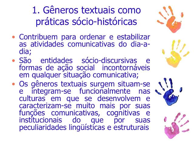 Gêneros Textuais Definição e Funcionalidade