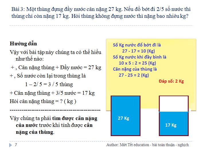 Các dạng bài toán tỉ lệ thuận - nghịch - Toán 5 (Tiết 1)