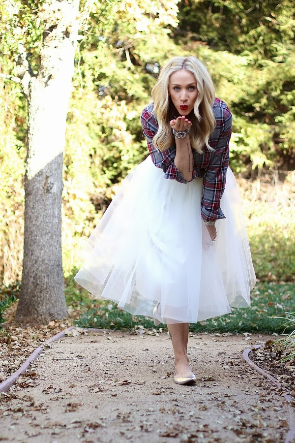 parlor girl tulle skirt happy new year happy birthday