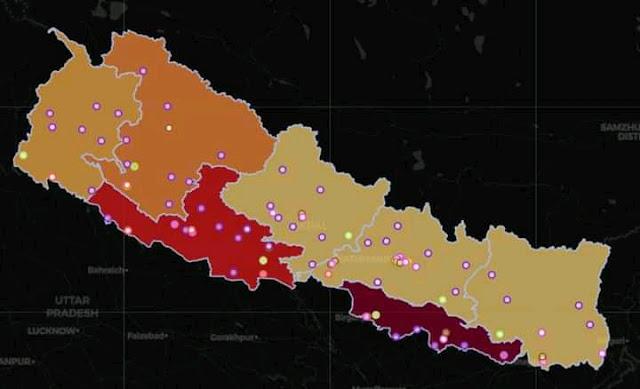 Corona case Nepal