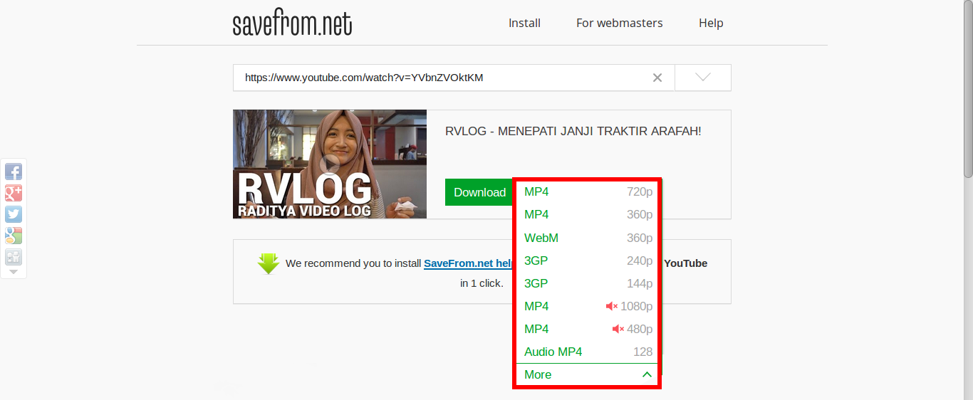 Tutorial Download Video Di Youtube Tanpa Software