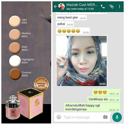 Image result for TESTIMONI MERVE Full Coverage Foundation