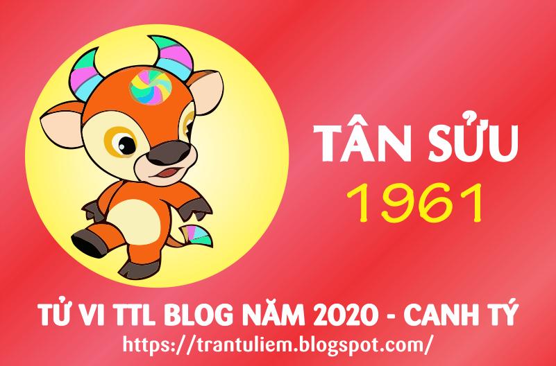 TỬ VI TUỔI TÂN SỬU 1961 NĂM 2020