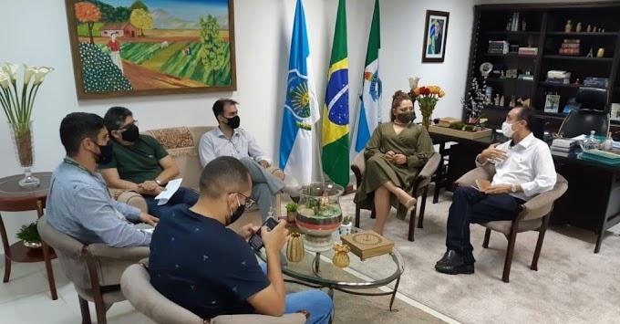 Deputado Souza busca Ufersa para capacitar pescadores da Costa Branca