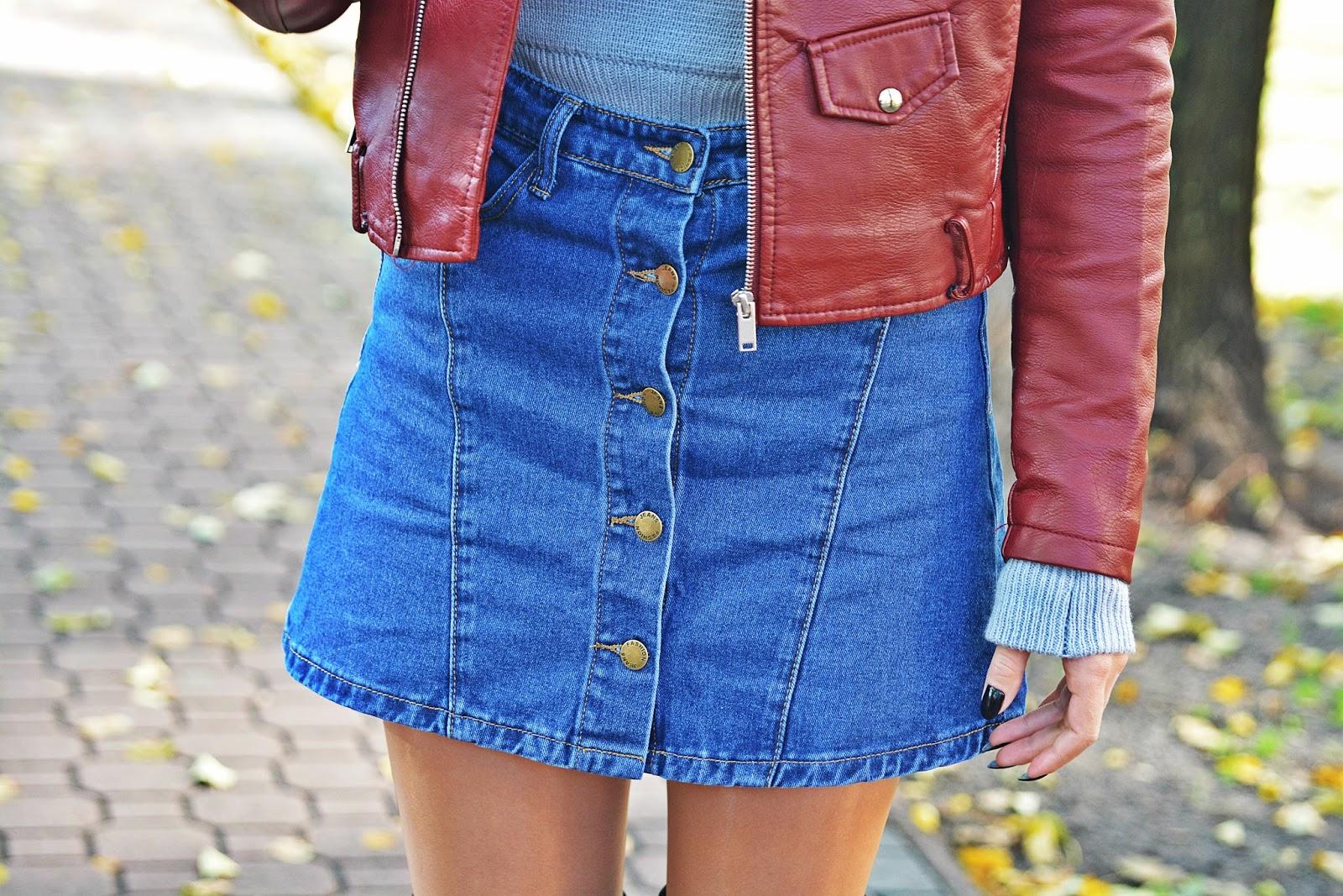 szary_plaszcz_spodnica_jeans_guziki_bordowa_ramoneska_karyn12