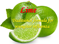 Traditional formula for youngster influenza