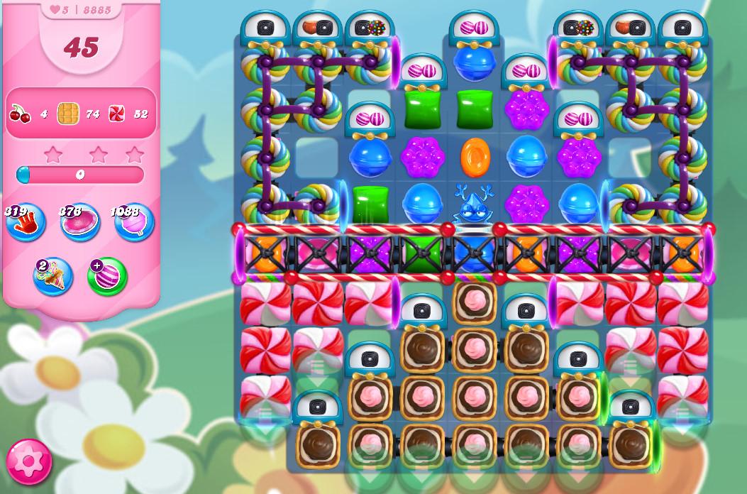Candy Crush Saga level 8885