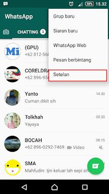 Cara Mengubah Atau Mengganti Tampilan Tema WhatsApp