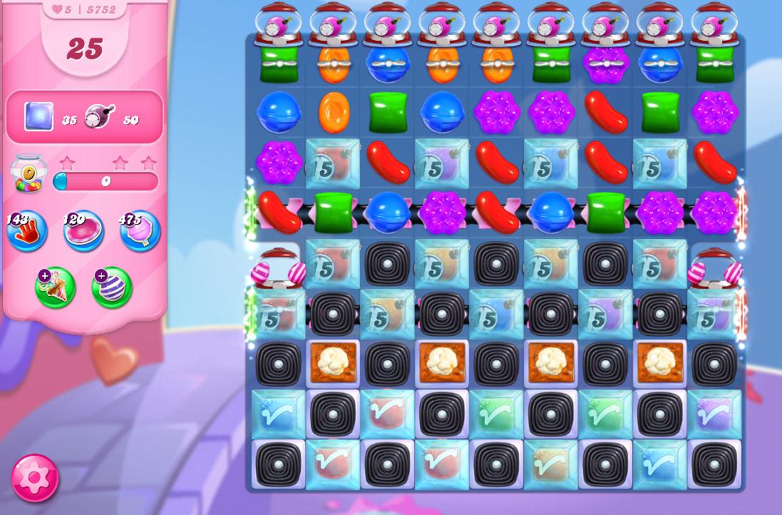Candy Crush Saga level 5752