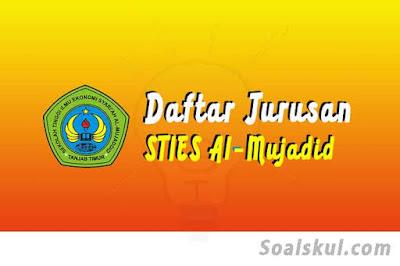 daftar jurusan di sties al-mujaddid