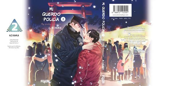 Ediciones Fujur muestra la sobrecubierta de Mi querido policía 2, de Niyama.