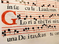Gregorian Chant in the Parish -- Music as Art