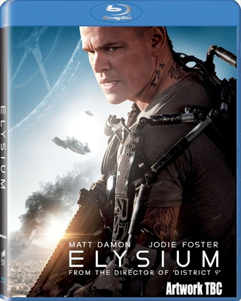 Elysium 2013 Dual Audio Hindi Bluray Movie Download