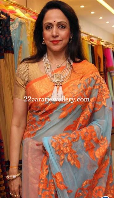 Hema Malini Beads Necklace