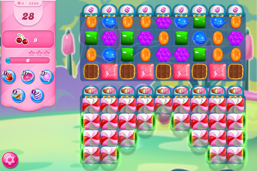 Candy Crush Saga level 8264