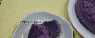 bolu kukus ubi ungu lembut enak