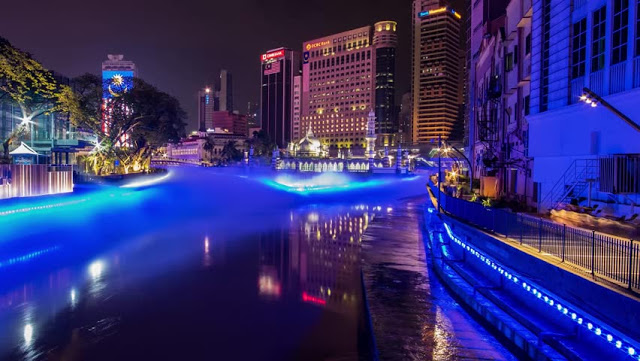 river of life, blue pond kuala lumpur, river of life kuala lumpur, top attractions in Kuala Lumpur, new attraction in kuala lumpur,